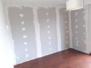 Rénovation d'un logement qui était humide à lille par cloison placoplatres