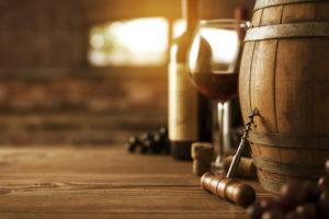 caisse de vin moisissent