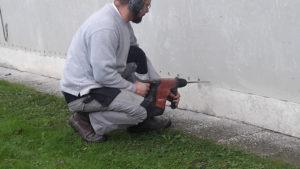 Traitement contre l'humidité par injections de résine étanche écologique non toxique à lille dans le nord